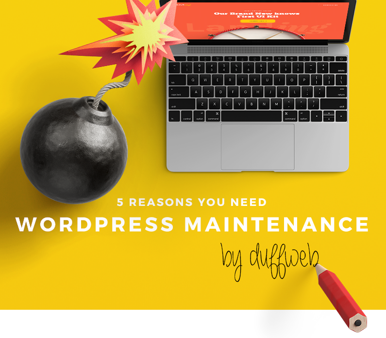 Why You Need WordPress Maintenance-The New Infographic