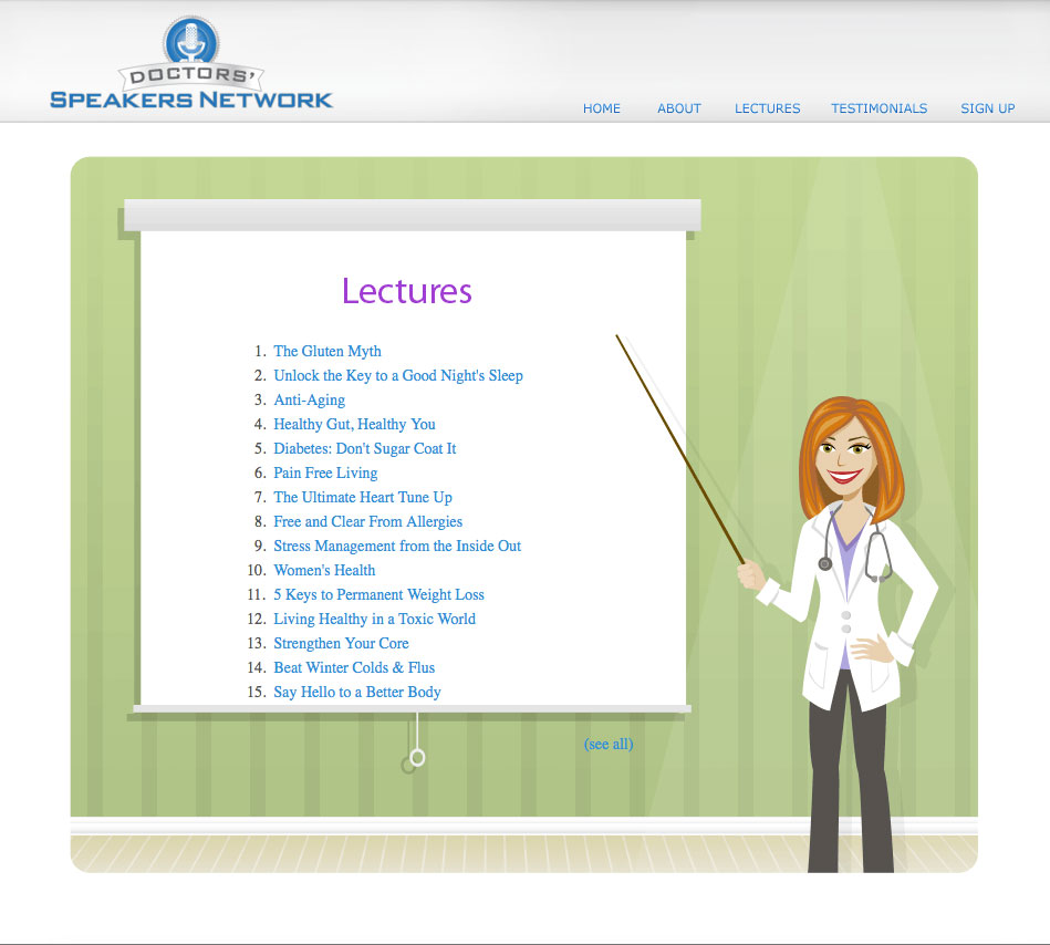 Old Lectures Page